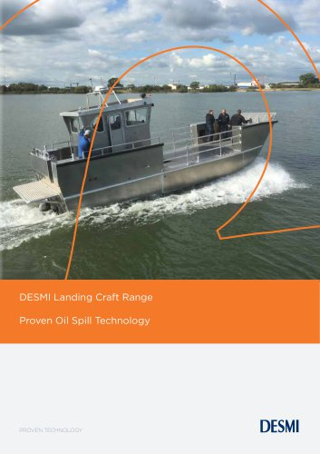DESMI Landing Craft range