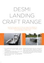 DESMI Landing Craft range - 2