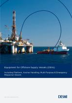 Equipment for Offshore Supply Vessels (OSVs) - 1