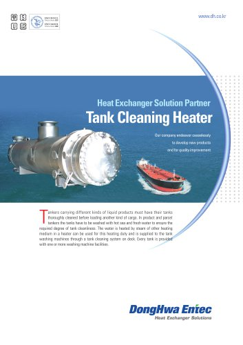 Tank Cleaning Heater