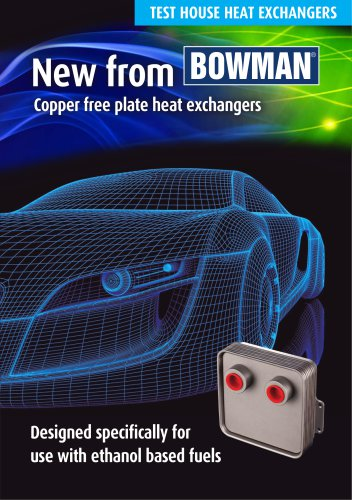 Copper-free Plate Heat Exchanger
