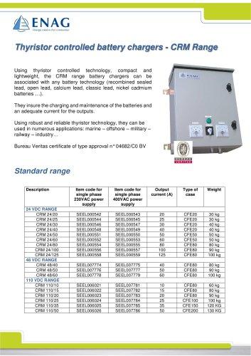 CRM range – 24/48/110V – Single phase