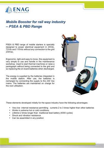 PSEA-PBD range – 24/72/110V mobile