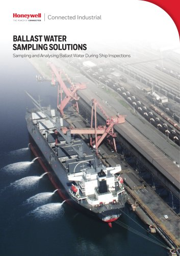 Ballast Water sampler Brochure