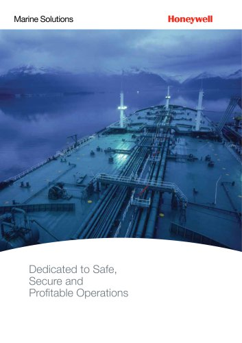Marine Solutions - Dedicated to Safe, Secure and Profitable Operations