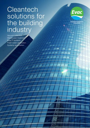 Cleantech solutions for the building industry