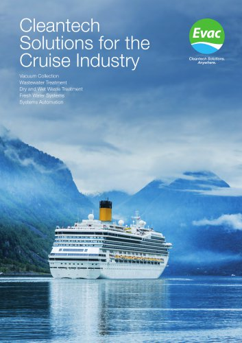 Cleantech Solutions for the Cruise Industry