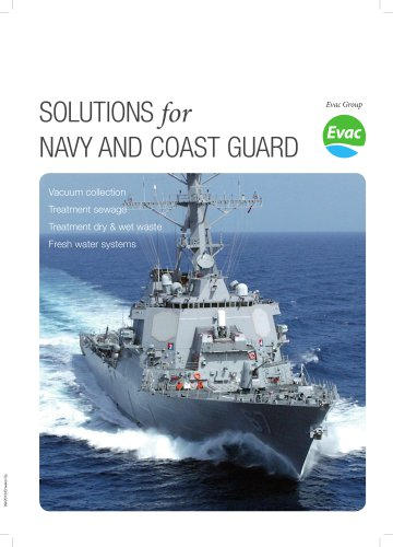 Solutions for Navy and Coast Guard