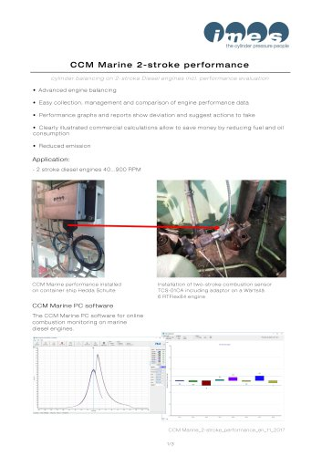 CCM Marine 2-stroke performance