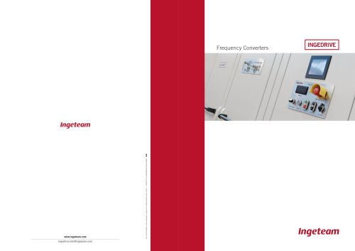INGEDRIVE Frequency Converters Catalogue