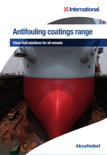 Antifouling coatings range