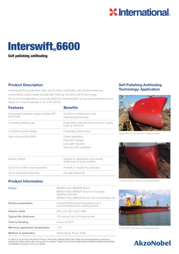 Interswift 6600