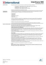 INTERTHANE 990 DATA SHEET - 2