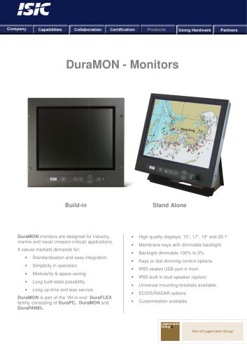 DuraMON Marine Monitors