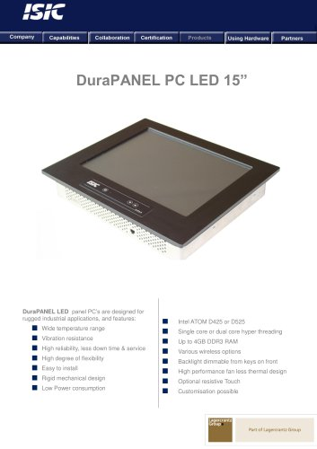 DuraPANEL PC LED 15?