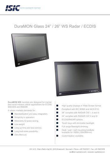 MONITOR 26″ WS LED GLASS