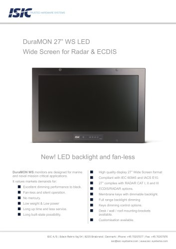 "MONITOR 27"" WS LED"