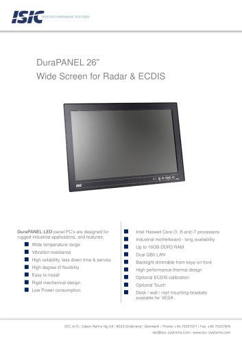 PANEL PC 26″