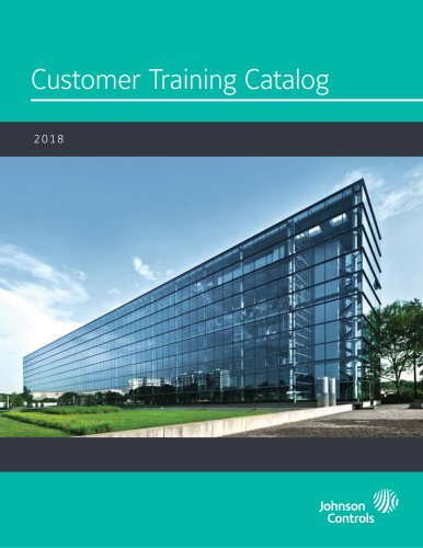 Customer Training Catalog 2018