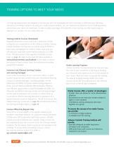 Customer Training Catalog 2018 - 4