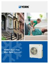 YORK® Duct-Free Mini-Split Systems