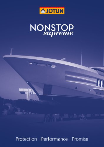 NonStop Supreme superyacht brochure
