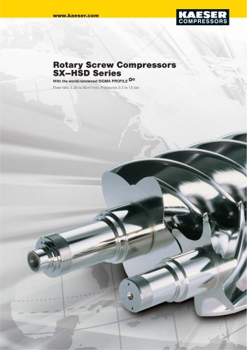Rotary screw compressor general catalogue