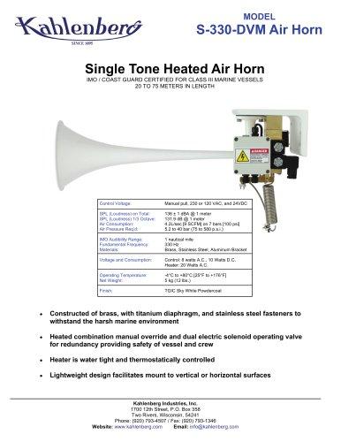 S-330-DVM Air Horn