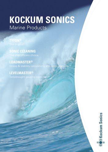 KOCKUM SONICS Marine Products