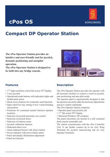 Compact DP Operator Station