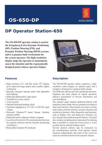 DP Operator Station-650