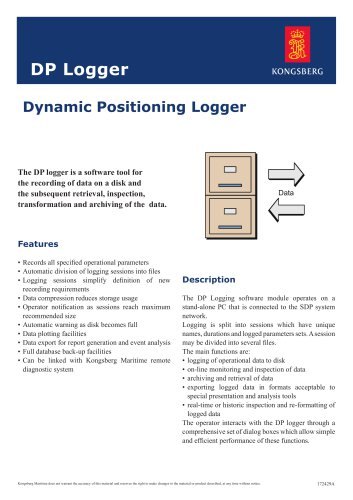 Dynamic Positioning Logger