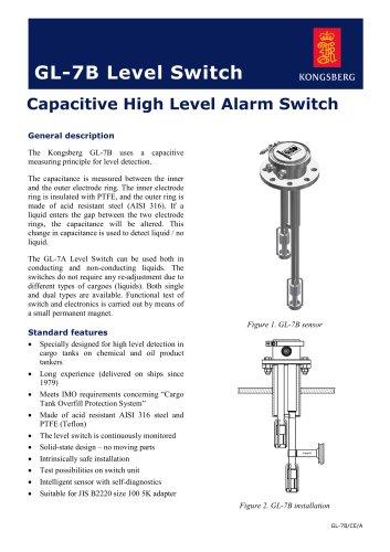 High level alarm sensor GL-7B