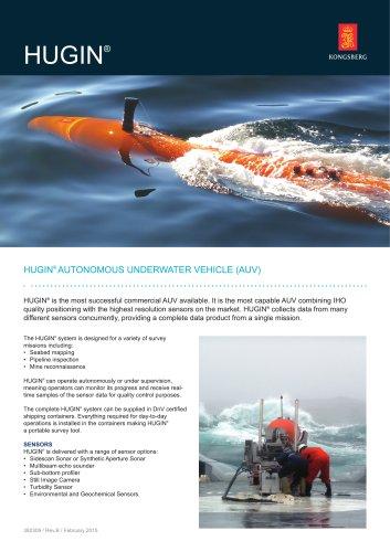 Hugin product specification - Kongsberg Maritime - PDF