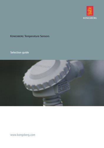 Kongsberg Temperature Sensors