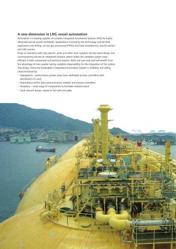 LNG vessel automation