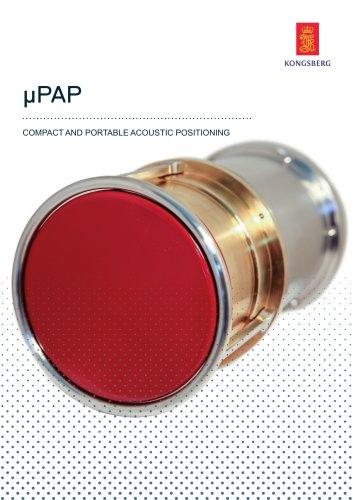μPAP - Underwater positioning system