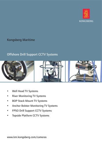 Offshore Drill Support CCTV Systems