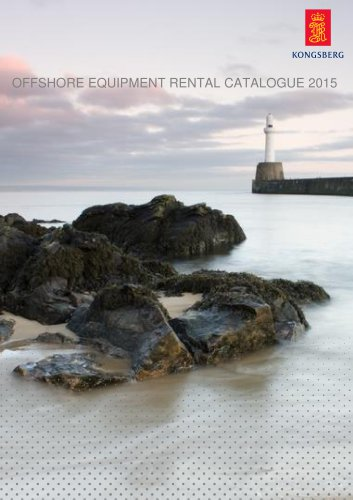 OFFSHORE EQUIPMENT RENTAL CATALOGUE 2015