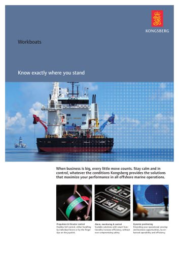 Products for workboats