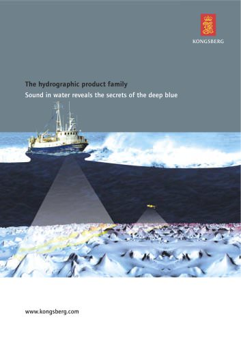 The hydrographic product family