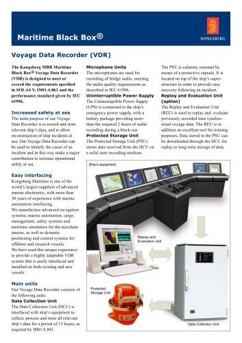 voyage data recorder (VDR) for ships