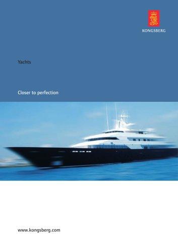 Yacht brochure