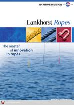 Lankhorst Ropes - Maritime Division - Product Catalogue