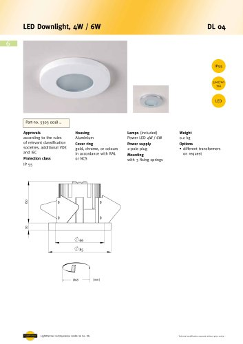 DL 04 LED LED Downlight