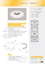 DL660 M Fixed or adjustable Downlight, recessed, MR16