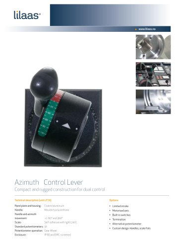 azimuth control handle for ships LF70