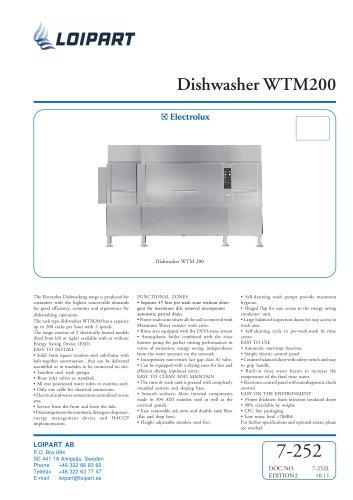 Dishwasher WTM200EA