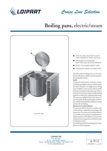 El. Tilting Boiling Pan 100 l.