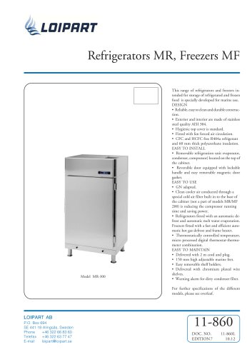 Marine Freezer 400L